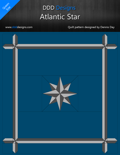 Digital Download of the Atlantic Star Pattern