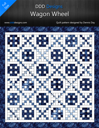 Digital Download of the Wagon Wheel Pattern